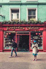 Irregular choice (Maurizio Contini) Tags: streetphotography photooftheday loveit instadaily picoftheday mauriziocontini maurizio contini urban canon carnaby street visitlondon london uk photography
