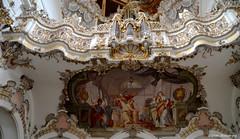 Die Orgel im Welfenmünster (diwe39) Tags: orgel fresken steingaden welfenmünster sommer2016 badbayersoien2016