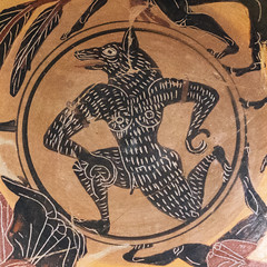 "Etruscan Pottery X: The Wolf-man or the Shape of Fate. (Egisto Sani) Tags: rome ceramica roma art ceramic arte plate di pottery vases etruscan piatto herakles heracles nesso etrusca etrusco nessus eracle style"" ""villa nessos deianira deianeira ""museo giulia"" painter"" museonazionaleetrusco ""stile lupo"" ""pittore etrusco"" ""wolfman""""uomo ""tityos tityos"" ""pontic pontico"""