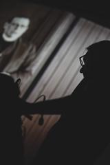 Visioni Sonore 037 (Cinemazero) Tags: jazz biblioteca chiostro pordenone busterkeaton cinemamuto jorisivens cinemazero zerorchestra visionisonore claudiocojaniz giannimassarutto massimodemattia