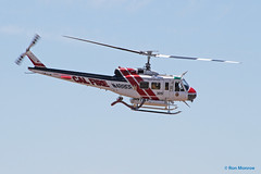 """USDA Forest Service FEEP, Bell UH-1D Iroquois  """"Huey"""" (Ron Monroe) Tags: huey helicopters iroquois bellhelicopters uh1d forestservice n488df usdaforestservicefeep"""