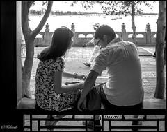 Amoureux (Hlne Baudart) Tags: portraits lac chine amoureux