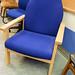 Beech framed waiting chair
