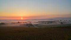 Zesching im Morgennebel (Sandsteiner) Tags: sonnenaufgang sunrise sommer nebel fog elbsandsteingebirge sandsteiner