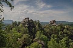 Honigstein (Paulas Welt 73) Tags: natur sandstein aussicht sachsen schsiche schweiz rathen