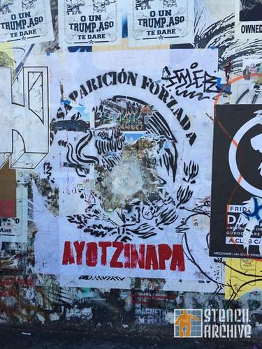 SF_Valencia_DAP wall _ AyotzinapaPoster
