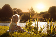 ... Golden memories ... (Margarita K...) Tags: sunset portrait childhood southwales wales pond nikon child south ngc fairytales beautifulwales mkphotography lliswerry d5200 margaritakphotography