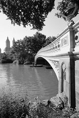 """Central Park"" (PamBolingPhoto) Tags: architecture newyorkcity nyc centralpark bowbridge lake boats"