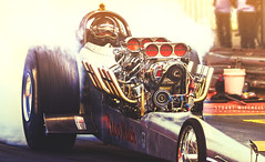 Too Much (Stuart Mitchell) Tags: too much dragster drag car hotrod twin engine engined fed slingshot rail nostalgia racing