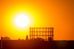 Basketball (lunamtra) Tags: gasometer schneberg sonnenuntergang thf sonne licht