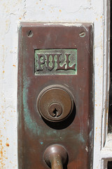 Post Office door pull (plasticfootball) Tags: hartsville southcarolina doorpull doorhandle postoffice