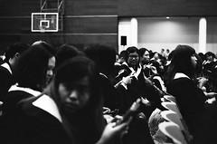 Graduation 2016-2 (Enix Xie) Tags: taiwan taichung wufeng asiauniversity  graduation people life kodakcolorplus200 kodak nikon nikkor filmcamera  f2a nikonf2photomica photomic nikon55mmf28afmicro bw