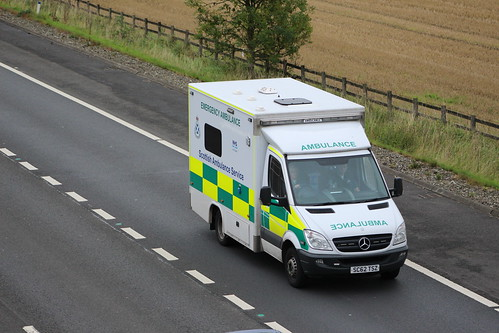 M9 SC62 TSZ MERCEDES SPRINTER SCOTTISH AMBULANCE SERVICE