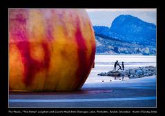 The Peach, The Romp sculpture and Giants Head from Okanagan Lake, Penticton, British Columbia [EXPLORED] (kgogrady) Tags: landscape summer penticton britishcolumbia canada cans2s britishcolumbialake canadianlandscapes britishcolumbialandscape bc 2016 morning pentictonbritishcolumbia okanaganlake nopeople fujifilmxt1 okanagan fujinon noone pentictonbc fujifilm westerncanada xf55200mmf3548ois xt1 lakeshoredrive sculpture southernbc theromp southernbritishcolumbia thepeach picturesofbritishcolumbia photosofbritishcolumbia