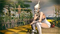 Tin Doll (Duchess Flux) Tags: roawenwood enchantment slackgirl blueberry azoury snowpaws bauhausmovement arise thewizardofoz secondlife fairytale followtheyellowbrickroad sl fantasy