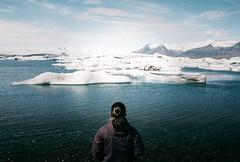(Bazzerio) Tags: 35mm bazzerio iceland jokulsarlon travel analogue exploredreamdiscover explore woman fujifilm film ishootfilm