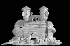 Apologies to Gaudi (votsek) Tags: 2016 castle miniature sculpture architecture clay slider slidersunday ceramic