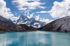 Turquoise Lake (Yuka Ogava) Tags: nepal lake gokyo mountains himalayas trekking national park outdoor landsape