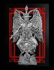Baphomet (Jesus destroyeur) Tags: baphomet stencil postapocalyptic pochoir geometry geometrie demon death esprit esoteric spirit
