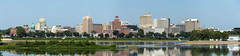 Harrisburg, PA Skyline (Photons of Days Past) Tags: harrisburg pennsylvania skyline panorama canoneos6d ef70300mmf456isusm river reflection buildings