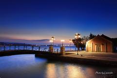 漫步淡水 (Lavender0302) Tags: sunset taiwan 夕陽 台灣 淡水 黑卡 色溫 淡水海關碼頭 新北市