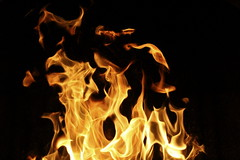 Abstract shapes 3 (Glaneuse) Tags: night dark fire flames shapes burning hearth feuer feu fiery