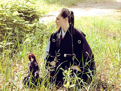 Sakata-san & Yukihiro-kun (Suliveyn) Tags: japan doll cosplay patrick kimono bjd leeke lrpg leekeworld
