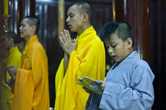 Thien Mu pagoda (PawelBienkowski) Tags: praying vietnam hue prayers buddhistmonks thienmupagoda buddhistmonastery vietnammonks