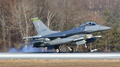 134 FS F-16C Block 30-1 (flyfastandlow) Tags: 30 burlington vermont block ang greenmountainboys f16c