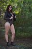 DSC_4751 (TimMurphyPhotography) Tags: girl leather model badass jacket bikini brunette cheyenne bikinimodel
