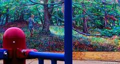 Playground Art (jhumbrachtphotography) Tags: playground mural jungle gym artprize