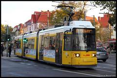 BVG GT6N 1535 (Xavier Bayod Farr) Tags: berlin germany tram xavier tramway berliner strassenbahn tranvia karlshorst villamos bvg  tramvia bayod verkehrsbetriebe farr elektrika berlinerverkehrsbetriebe gt6n strasenbahn canoneos60d efs18135mmf3556isstm xavierbayod xavierbayodfarr