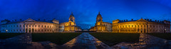 Old Royal Naval College, Greenwich (Davoud D.) Tags: panorama london cloudy greenwich unesco wren christopherwren sirchristopherwren maritimegreenwich oldroyalnavalcollege
