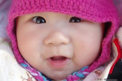 Happiness (digtalfarmer) Tags: baby cute eye beautiful face asian happy infant pretty pentax sweet adorable happiness 1855 lovely lovelys