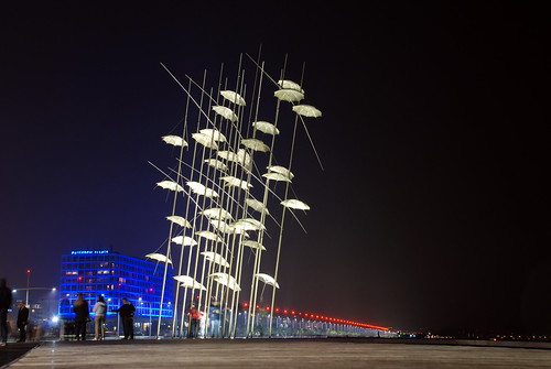 umbrellas_thessaloniki by Αργύρης, on Flickr