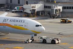 Media watching inagural Etihad flight at SFO 777-300ER A6-JAF (ChasenSFO) Tags: sfo push tug boeing 777 pushback auh 773 sanfranciscointernationalairport firstflight ksfo sanfranciscoairport sfairport 9w ey leased etihad jetairways 777300er inagural 77w sfia abudubai sfoauh