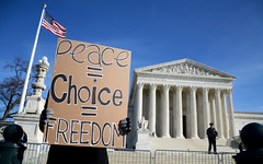 Peace Choice Freedom (katie.causey) Tags: life court for march george dc washington women university anniversary protest photojournalism police womens v stop abortion rights violence pro feminism wade vs choice activism anti gw feminist roe protesters activist hatchet arrest supreme patriarchy scotus reproductive