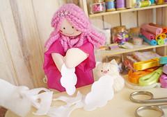 Obrigado Gatinha pela ajuda! (Ateliê Bonifrati) Tags: cloud cute diy chuva craft feltro tutorial pap passoapasso bonifrati colorcloud feltcloud craftcloud