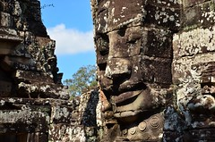 Smiler (Tad Zapasnik) Tags: smile face river thailand temple boat nikon cambodia rugby religion monks tad shiva angkor wat buddism warwickshire indochina d7000 wwwjustatadeu zpasnik
