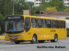 1341 (Guilherme Rafael) Tags: volvo apache ii vip caio glória induscar b270f