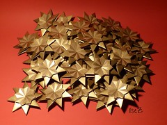 """Nearly"" a galactic Star Cluster :)) (esli24) Tags: weihnachten origami stern origamistar papierfalten carmensprung origamistern starfranziska esli24 ilsez"