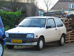 1986 Suzuki Swift 1.3 GL (rvandermaar) Tags: ga swift suzuki 1986 gl cultus sidecode4 pk96gd