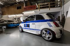 Fiat 500 R2-D2 (#201WRAP) Tags: tarmac star starwars fiat r2d2 wars 500 droid fifteen52