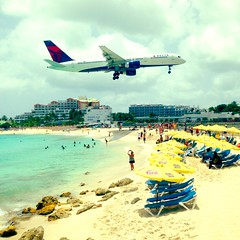 AirPort Beach, St Maarten.