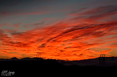 Primer amanecer de este invierno... (E.M.Lpez) Tags: sky color luz maana clouds andaluca amanecer cielo nubes invierno fro da diciembre jan surise 2014 invernal alcallareal