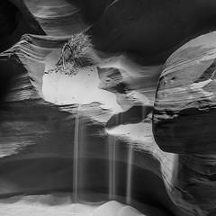 Upper Antilope Canyon 11 B&W (USpecks_Photography) Tags: longexposure arizona blackandwhite bw square blackwhite sand desert navajo navajoland navajoreservation slotcanyon canonefs1022mmf3545usm navajonation upperantelopecanyon deserttree navajotriballand canon7d