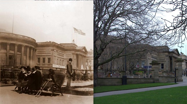 St Johns Gardens, 1892 and 2014