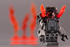 Flammenwerfer 90 (~Ghost Soldier~) Tags: soldier december lego ghost wwii minifig flamethrower 90 2014 brickarms flammenwerfer