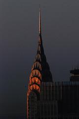 Chrysler Building (shumpei_sano_exp6) Tags: newyork reflection sunrise buildings dawn spire urbanlandscape aplusphoto colourartaward flickrestrellas multimegashot