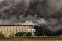 Burned dreams I (Krrillo) Tags: canon fire eos smoke 7d 28 fuego burgos humo 70200 incendio ef desastre desgracia campofrio